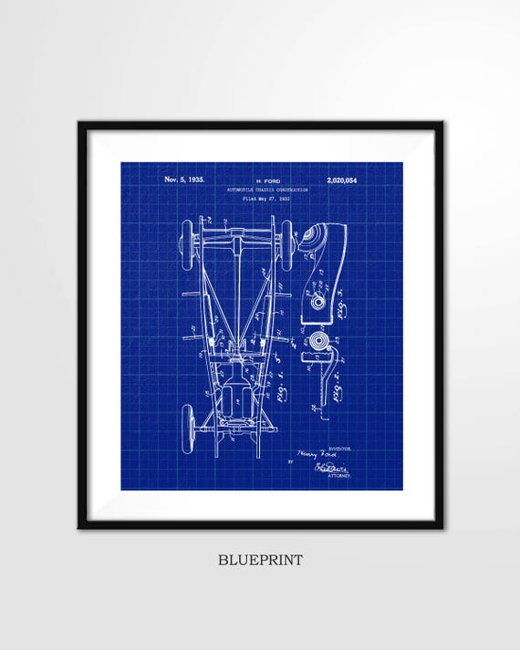 Ford patent print 1935 ford automobile chasis poster ford patent print 1935 ford automobile chasis poster automobile parts ford chasis automobile chasis digital download wall art print malvernweather Gallery