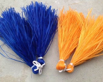 Tahitian And Cook Island Hau Grass I'i's Or Hand Tassels. Choose Any Color..Perfect For Dancers!!