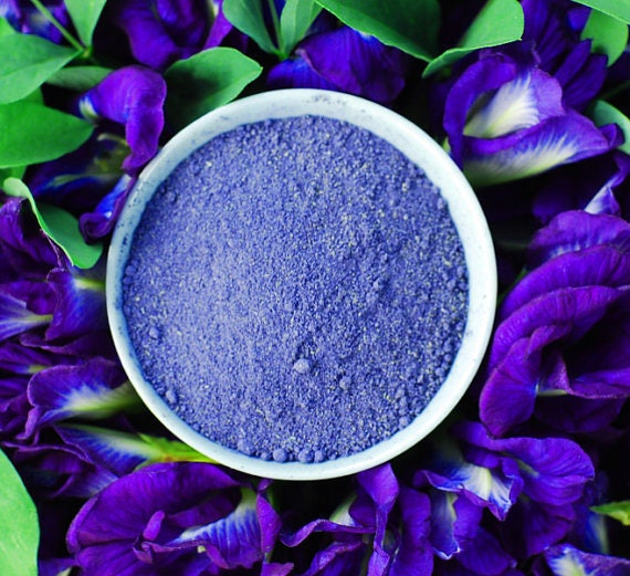 Natural Blue Food Coloring for Cake, Cookie, Food, Organic Anti ...