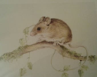 Mouse limited edition Giclee print
