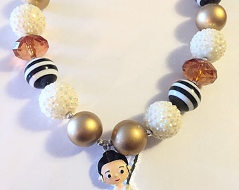 Star Wars Ray Chunky Bubblegum Necklace