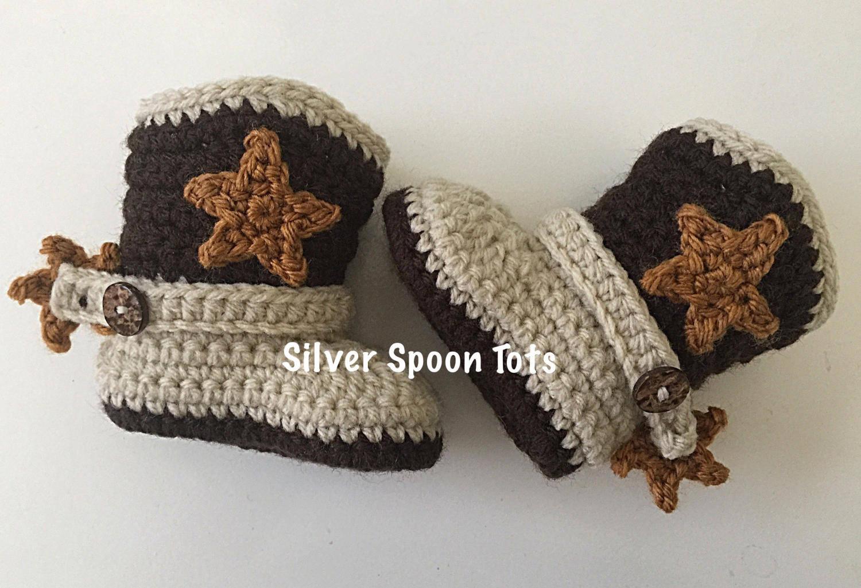 Baby-Cowboy-Stiefel Baby Boy-Stiefel Neugeborene