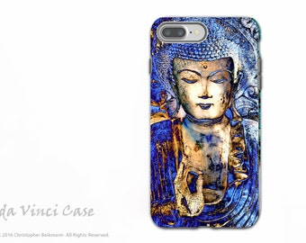 Blue Buddha iPhone 7 Plus - 8 Plus Case - Dual Layer Protective Apple iPhone 7/8 Plus Cover - Inner Guidance by Artist Christopher Beikmann
