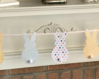 Easter Spring Bunny Banner