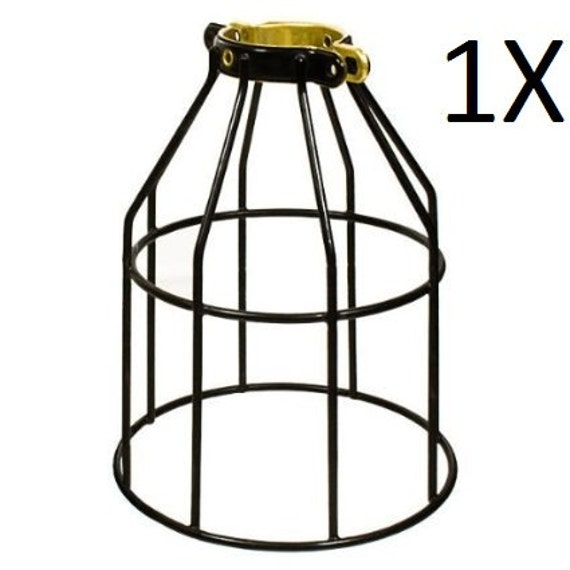 1x metal lamp cage edison bulb industrial lighting metal