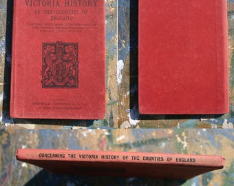 The Victoria History of the Counties of England - Description of Plan and details - 1905