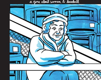 The Cranklet's Chronicle, a zine about women in baseball -  Issue 1