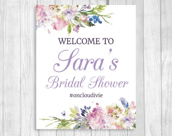 Custom Printable Bridal Shower Sign and Game Package RESERVED FOR GEORGIA