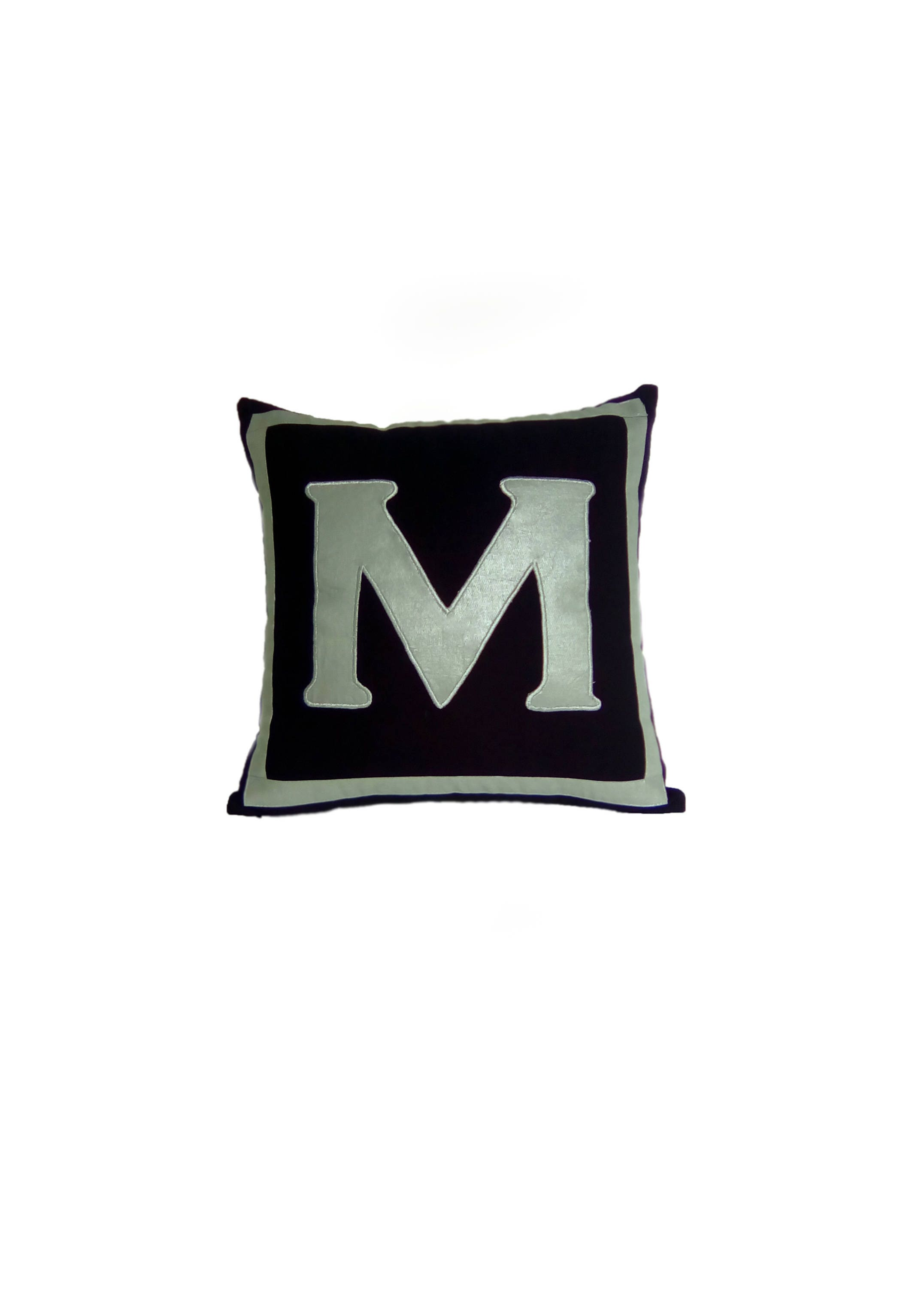 pillow throw ip personalized walmart gold initial pillows com