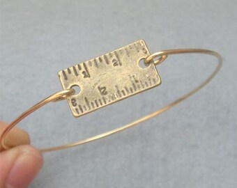Ruler  Bangle Bracelet