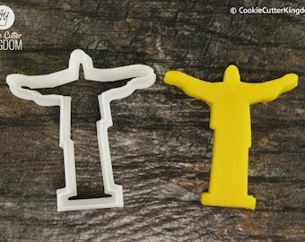 Jesus Cookie Cutter, Mini and Standard Sizes, 3D Printed