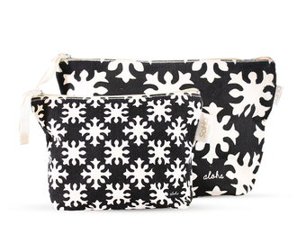 Tubarose Quilt Accessory & Cosmetic Bag