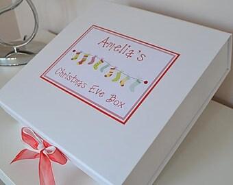 Christmas Eve Box - Xmas Eve Box - Personalised Christmas Eve Box