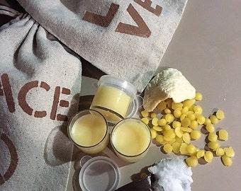 Natural Shea and coconut oil lip moisturizer