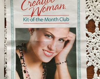 Creative Woman Kit-of-the-month Prett in Pink  Necklace and Bracelet