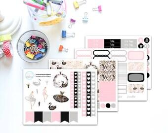 Swan Lake Planner Sticker Kit