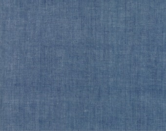 Moda Chambray blue cotton fabric by Moda fabric 12051 13