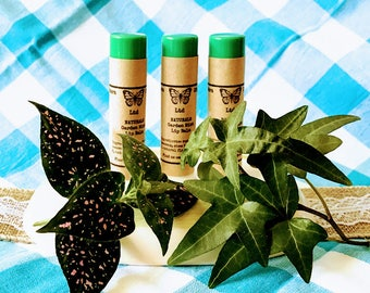 Mint Lip Balm, Mint Chapstick, Mint, Natural Lip Balm, Natural Chapstick, Organic Lip Balm, Organic Chapstick, Gift for him, gift for her