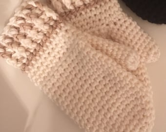 Fingerless gloves crochet pattern chic