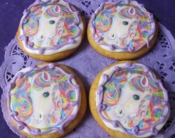 Unicorn sugar cookies 12
