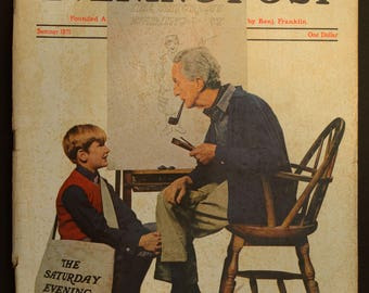 1971 Norman Rockwell Saturday Evening Post