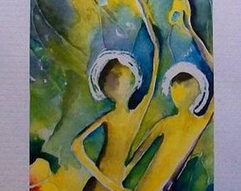 Twins LiTen Akvarell, small watercolor