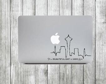 """Grey's """"Skyline"""" Sticker"""