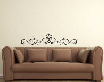 Scroll Embellishment 10... Vinyl Wall Decal Art Deco