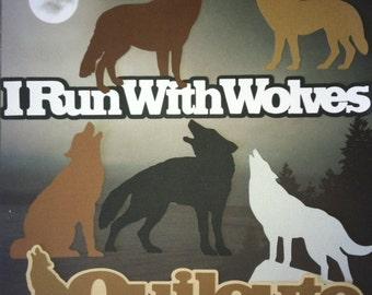7 piece Quileute wolfpack scrapbook embellishments