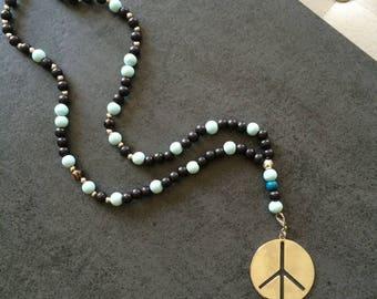 creAtonia: Peace and Love necklace
