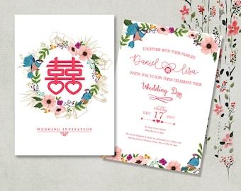 Chinese wedding Etsy