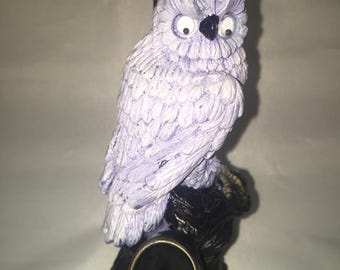 Tobacco Hand Made Pipe, White Owl Design