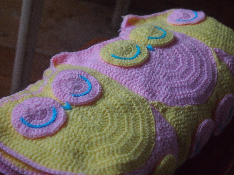 Crochet Owl Baby Blanket pattern , Crochet Owl pattern, crochet Owl ...