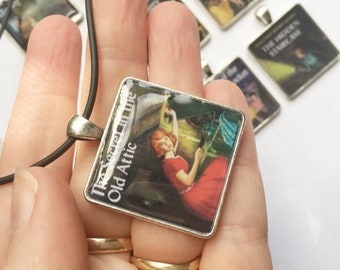 Book Title pendant, Nancy Drew Mystery