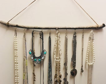 Boho Jewelry Wall Display