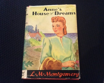1922 Edition of Anne's House of Dreams by Lucy Maud Montgomery