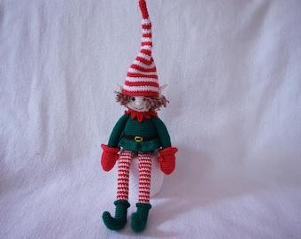 Christmas elf crochet pattern