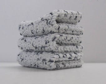 Cotton Washcloth Dishcloth  3 set Ready to Ship