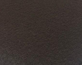Cocoa Dark Brown Felt Sheets - 6 pcs - Rainbow Classic Eco Fi Craft Felt Supplies
