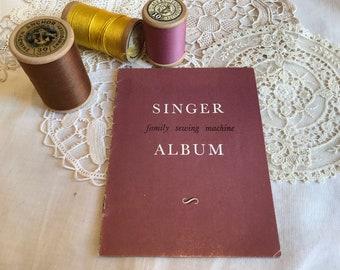 Singer Family Sewing Machine Album