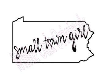 Pennsylvania Small Town Girl