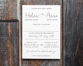 Rustic Wedding Invitation, rustic, bohemian wedding, country wedding, invitations UK, wedding invitations, wedding invitations, Barn Wedding