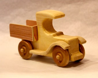 Wooden Toy Pickup Truck