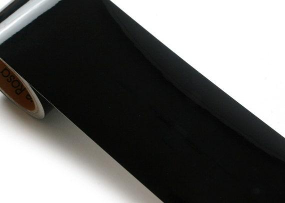 Peel & Stick Flame Retardant Border Sticker High Glossy Black