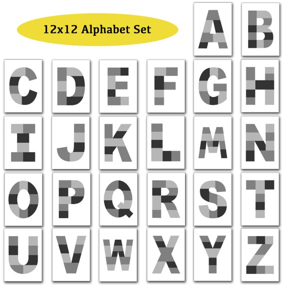 12x12 photo template pack alphabet template pack letter templates 12x12 photo template pack alphabet template pack letter templates photo collage templates instant download design blog from loveurstyledesigns on etsy spiritdancerdesigns Images