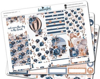 Daydream Mini Kit | MK06 | Planner Stickers for Erin Condren Vertical Planners - Physical Item | The Hummingbird Planner