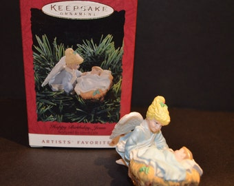 1994 Hallmark Keepsake Ornament Happy Birthday Jesus