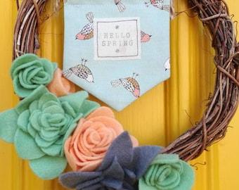 Spring mini hanging decoration
