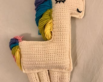Rainbow Unicorn Stuffed Toy