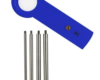 Jump Ring Maker Kit - 4 mm, 6 mm, 7 mm, 8 mm Jewelry Tool - JUMP-0001